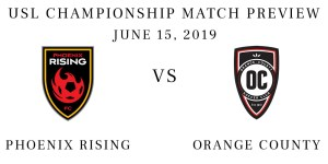 Phoenix Rising vs Orange County