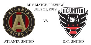 Atlanta United vs D.C. United