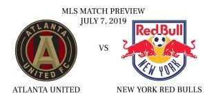 Atlanta United vs New York Red Bulls