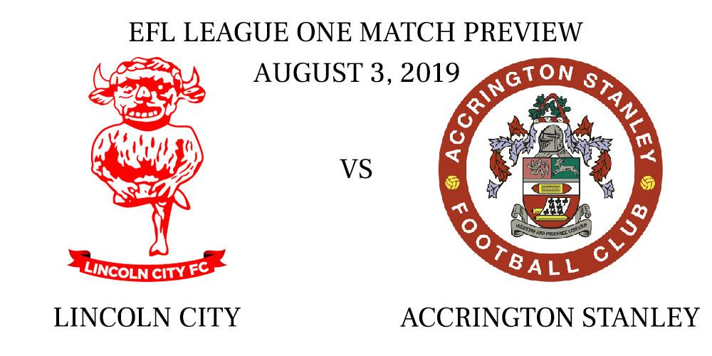 Lincoln City vs Accrington Stanley