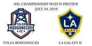 Tulsa Roughnecks vs LA Galaxy II