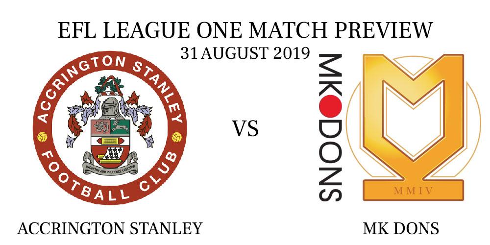 Accrington Stanley vs MK Dons