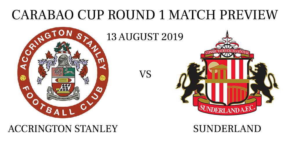 Accrington Stanley vs Sunderland League Cup