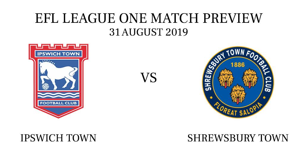 Ipswich Town vs Shrewsbury Town