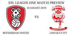 Rotherham United vs Lincoln City