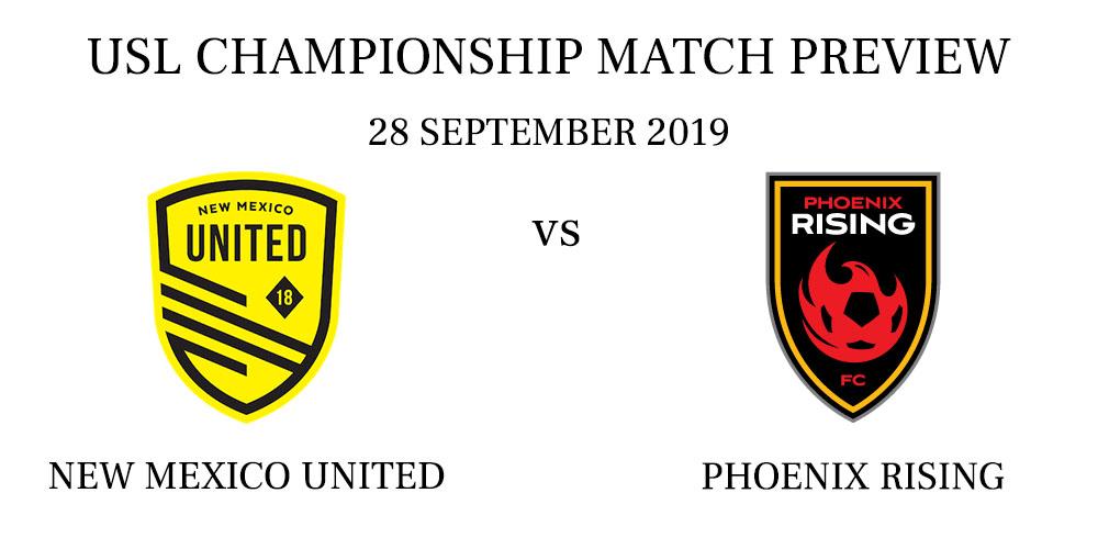 New Mexico United vs Phoenix Rising