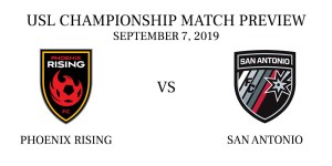 Phoenix Rising vs San Antonio