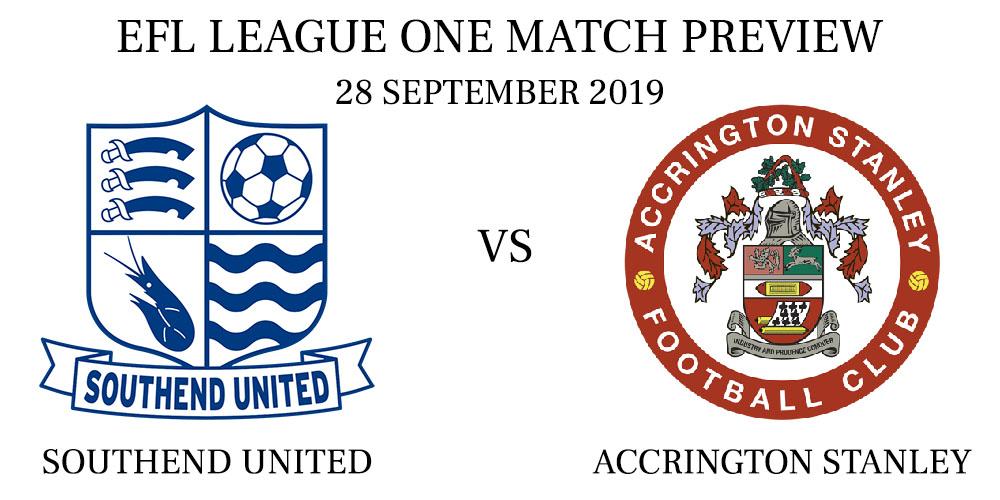 Southend United vs Accrington Stanley