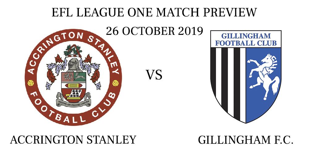 Accrington Stanley vs Gillingham