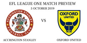 Accrington Stanley vs Oxford United: EFL League One Match Preview