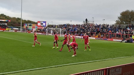 Accrington vs Ipswich October 2019