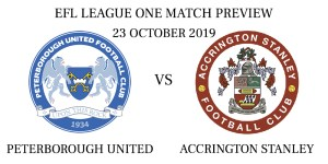 Peterborough United vs Accrington Stanley