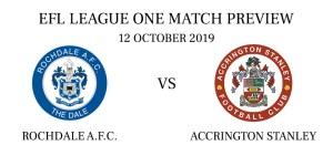 Rochdale A.F.C. vs Accrington Stanley 2019