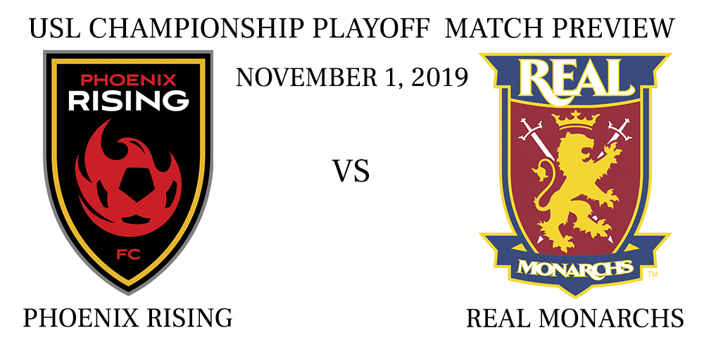 Phoenix Rising vs Real Monarchs playoffs preview