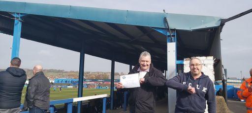 John Earnshaw at Barrow AFC