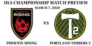 Phoenix Rising vs Portland Timbers 2 2020 preview