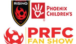 PRFC Fan Show cutouts for Phoenix Children's Hospital