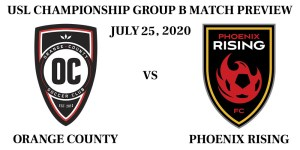 Orange County vs Phoenix Rising USL