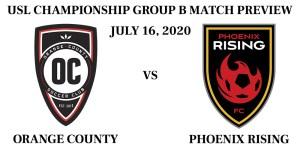 Orange County vs Phoenix Rising