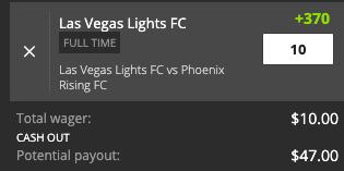 Las Vegas win payout