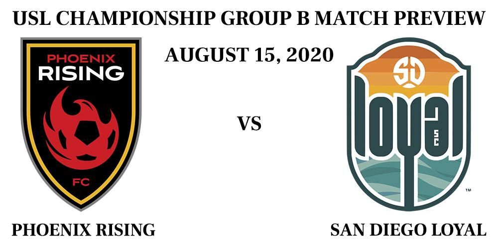Phoenix Rising vs San Diego Loyal