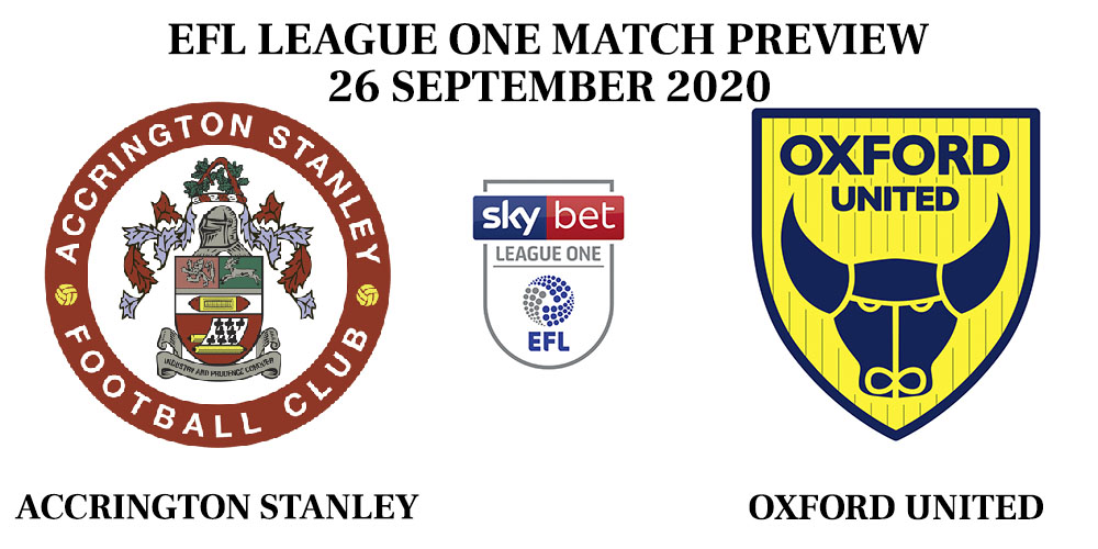 Accrington Stanley vs Oxford United