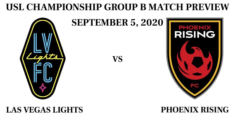 Las Vegas Lights vs Phoenix Rising September 2020