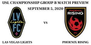 Las Vegas Lights vs Phoenix Rising September 2020