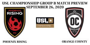 Phoenix Rising vs Orange County 2020