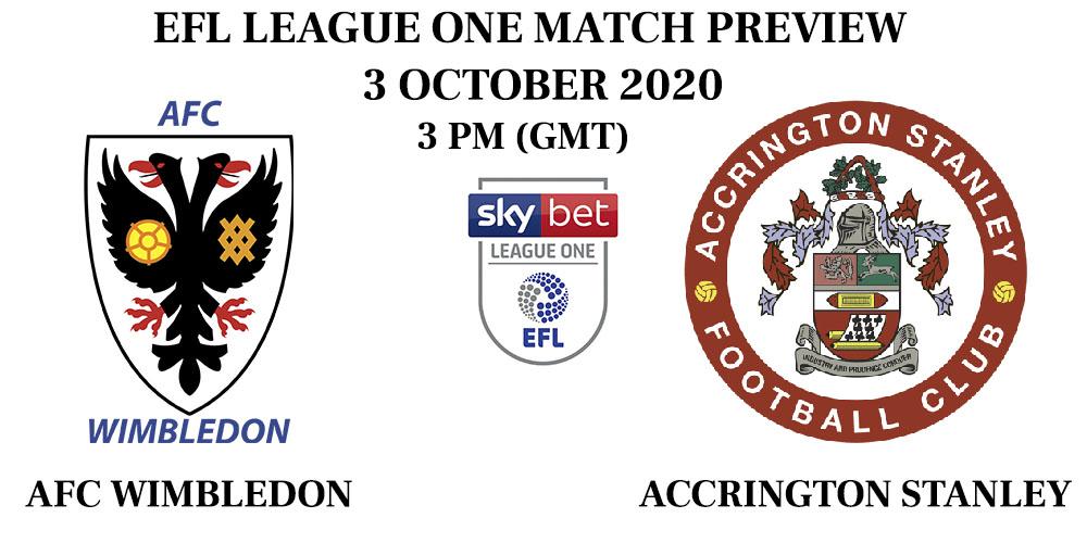 AFC Wimbledon vs Accrington Stanley 2020
