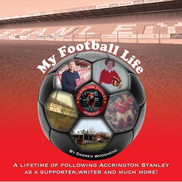 My Football Life book by Darren Woodhead