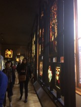The Display of the Stained Glass was lovely