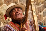 Sunday Snapshot | The Blind Harpist | Machu Picchu