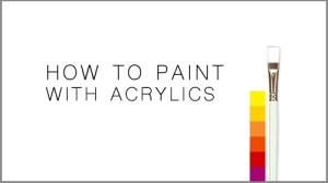 how to paint with acrylics learn to paint online learning