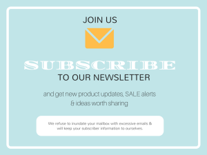 Join Us Newsletter Subscription