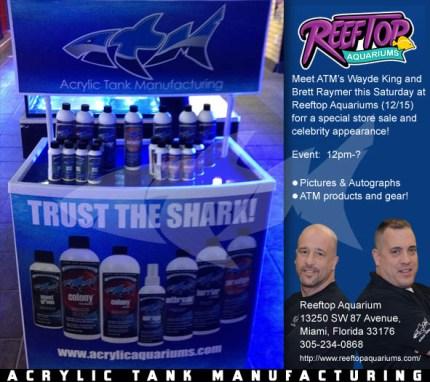 ATM EVENT Reeftop Aquariums Miami, FL