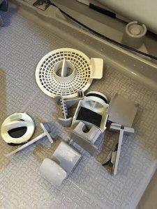 福岡のハウスクリーニング専門店、エーシーサーブの浴室クリーニングのやり方