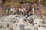 we reached the queen's crater a.k.a kawah ratu