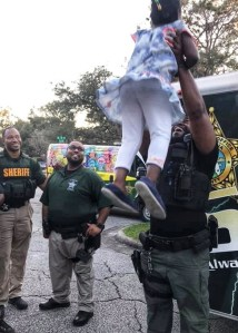 Deputies at a Youth and Community Resource Unit event