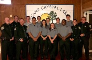 Alachua County Sheriff's Explorers at Camp Crystal Lake