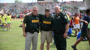 School Resource Deputies at an event