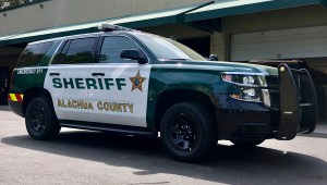Sheriff's Office Tahoe after customization