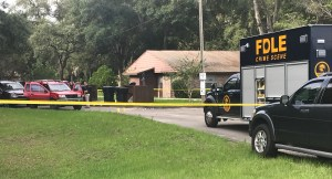 Crime Scene following a SWAT event in Levy County