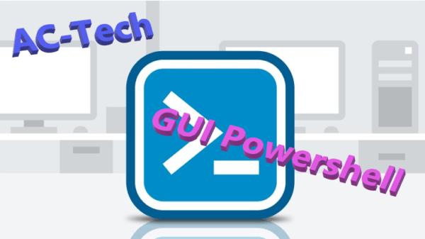 PowerShell: Interface Graphique – premiers pas