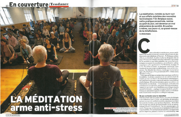 Le Vif Express - Meditation arme anti stress