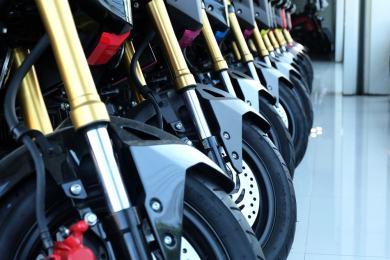 Motocykle Hondy w klasie touring