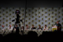 The 'Arrow' cast discuses the show during Friday's panel.