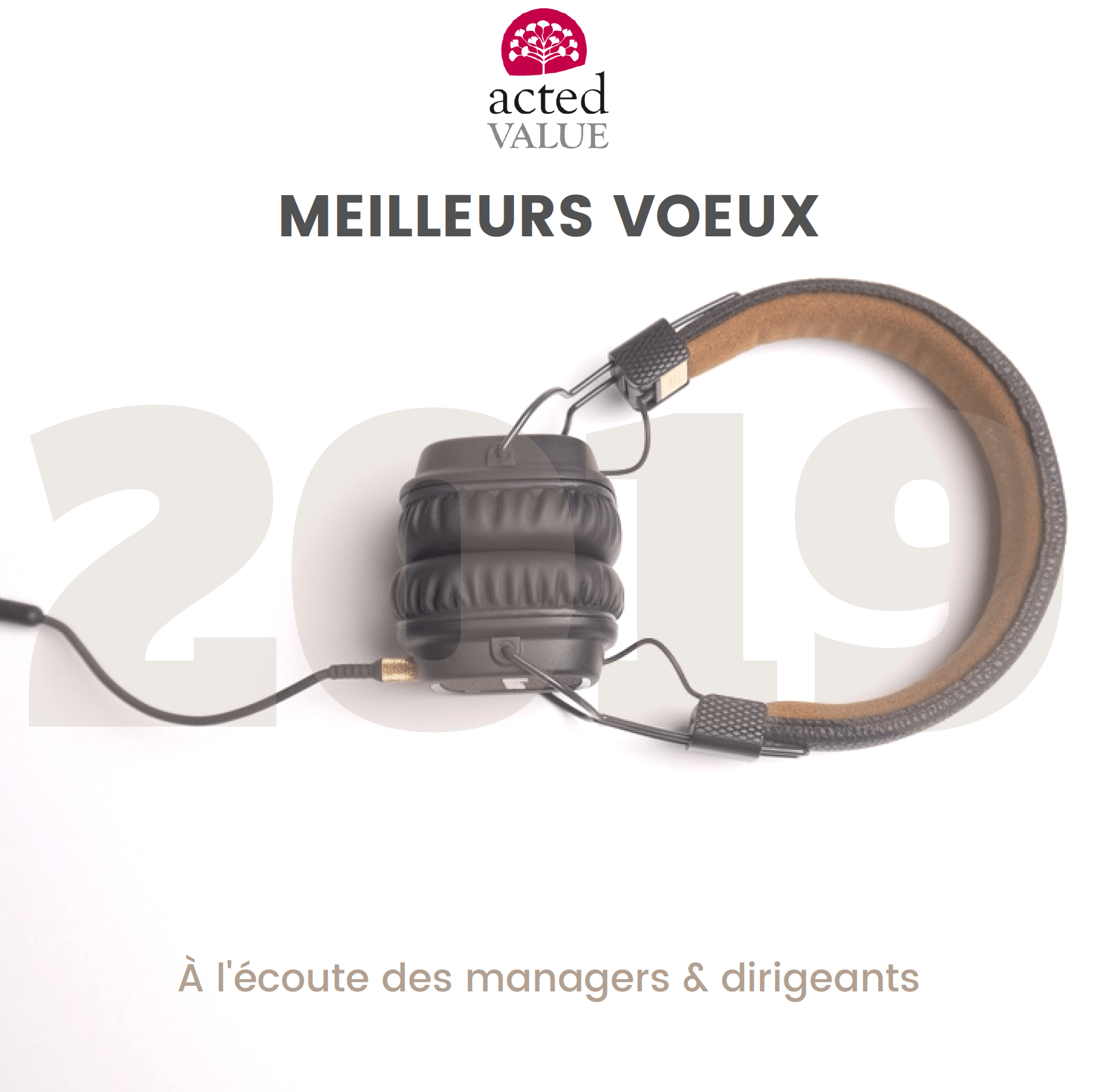 Voeux Acted Value 2019