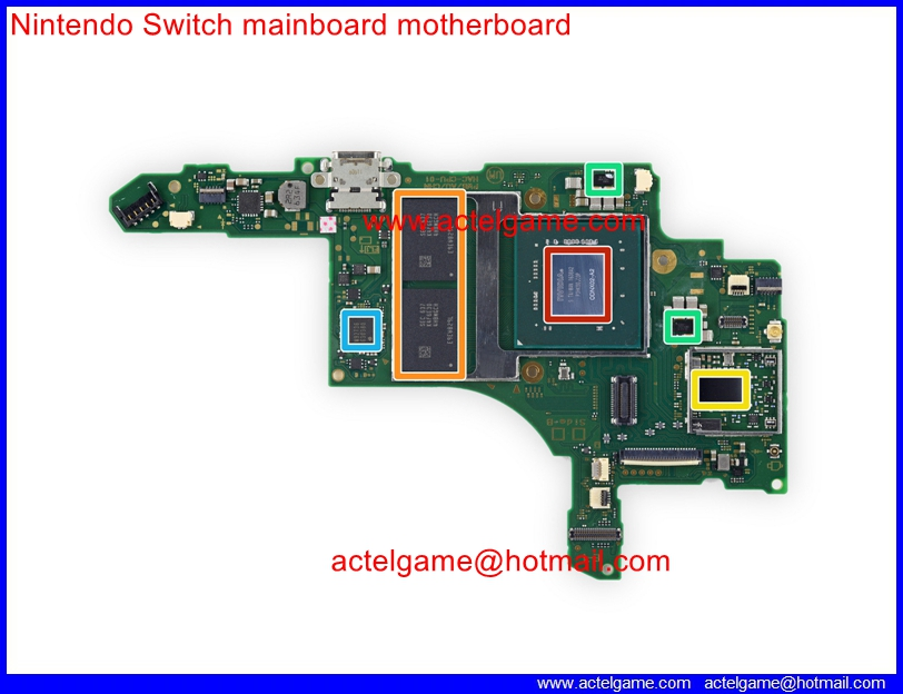 Nintendo Switch Teardown Wwwactelgamecom Video Games