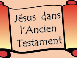 Jésus dans l'Ancien Testament